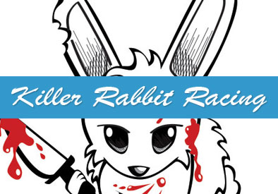 Killer Rabbit Racing: Graphic Design, Illustration, and Race Car Painting