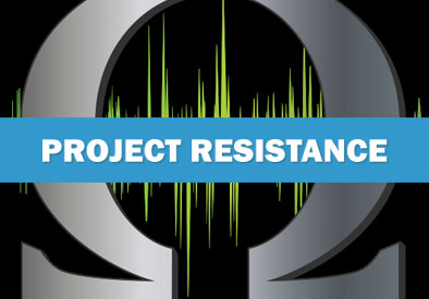 Project Resistance: Graphic Design, Branding, Corporate ID, Marketing Collateral, Advertisements, Website Design
