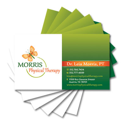 Graphic Design, Corporate ID and Branding: Morris Physical Therapy