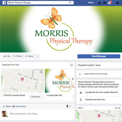 Graphic Design, Web Graphcs: Morris Physical Therapy