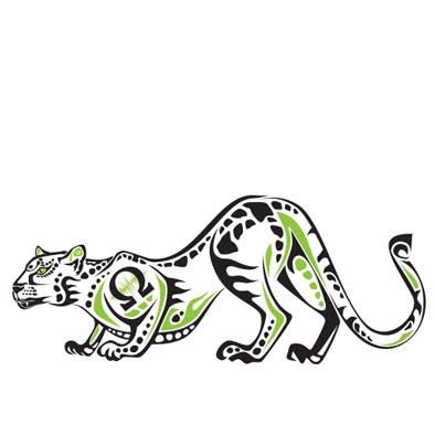 Original Artwork: cheetah totem
