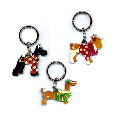 Sweater Dogs Keychains