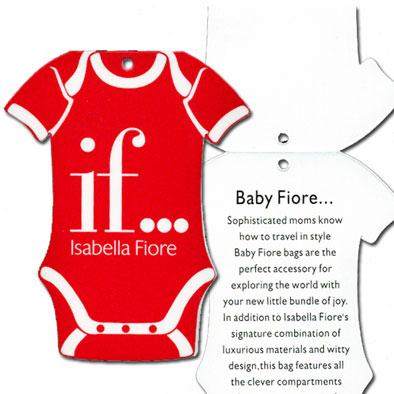 Isabella Fiore Baby Hang Tag