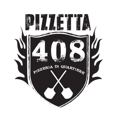 Graphic Design, Branding & Corporate ID: Pizzetta 408 Logo
