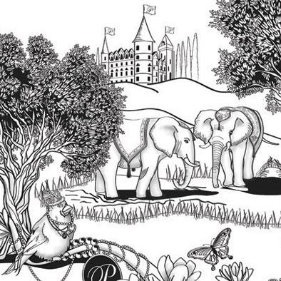 Illustration: Original Artwork for Signature Toile