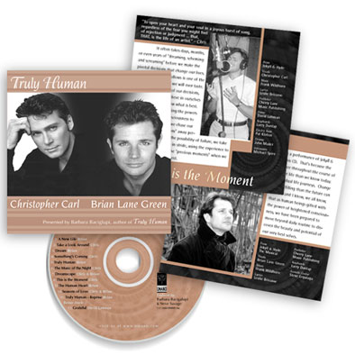 Graphic Design, Print Layout for Truly Human CD