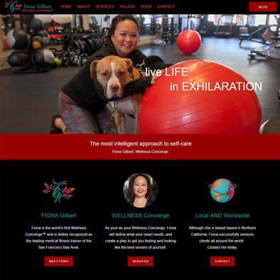 Graphic Design, Website Design: www.fionagilbert.com